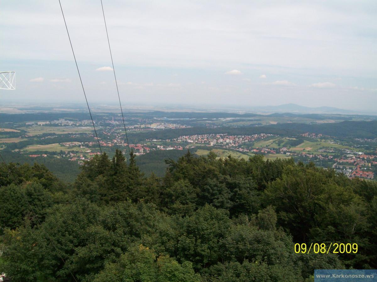 Panorama z wieży widokowej