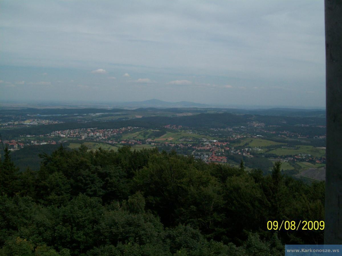Widoki z wieży widokowej