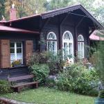 Drewniane domki w Karpaczu