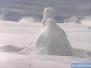 Śniegowe rzeźby