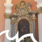 Ołtarz w kaplicy św. Anny na Grabowcu