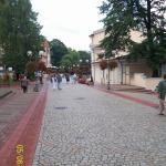 Kamienny deptak w Szczawnie