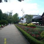 Na deptaku w Szczawnie - Zdrój