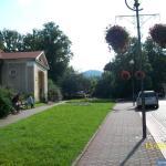 Widok na Chełmiec ze Szczawna - Zdroju