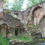 Zamek Świecie ruiny