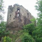 Zamek Świecie w maju 2009