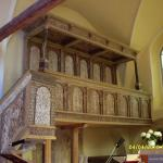 Chór w kościele Świny